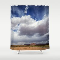 Desert Big Sky Shower Curtain