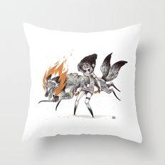 Kludde Throw Pillow
