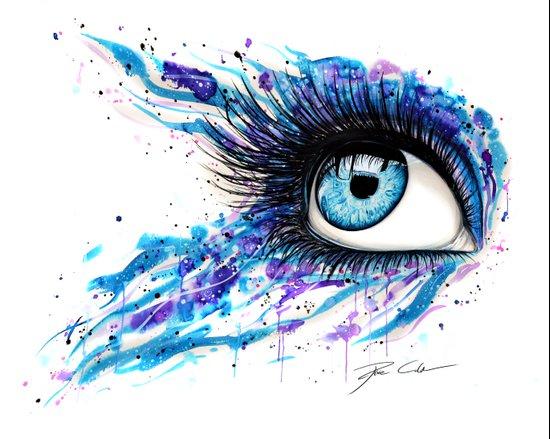 Open your eyes Art Print