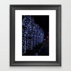 Christmas Blue Light Special Framed Art Print