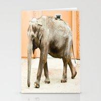 Smiling Elephant Stationery Cards