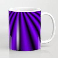 Violet and Black Mug