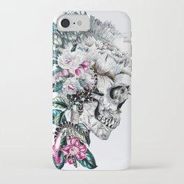 Clear iPhone Case - Momento Mori Rev V - RIZA PEKER
