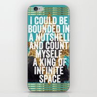 Hamlet Quote iPhone & iPod Skin