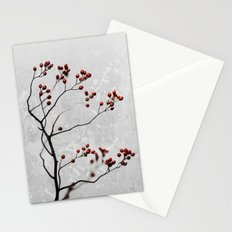 Abstract Flowers 6 Stationery Cards