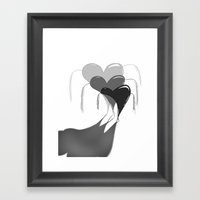 FOLLOW IT Framed Art Print