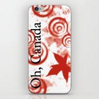 Oh, Canada iPhone & iPod Skin