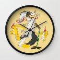 素戔男 - SUSANOO Wall Clock