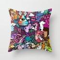 Freaky Friday Throw Pillow