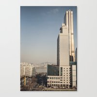 River Tower - Yeouido - … Canvas Print