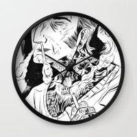 Psychobilly Wall Clock