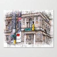 World War Z Street Locat… Canvas Print