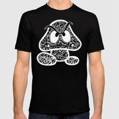 Goomba #CrackedOutBadGuys SMALL Mens Fitted Tee Black
