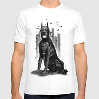 DOBERMAN Mens Fitted Tee White SMALL