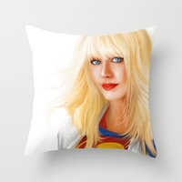 MOST ELIGIBLE KRYPTON Throw Pillow