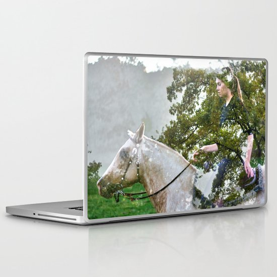 A Spark in the Trees Laptop & iPad Skin