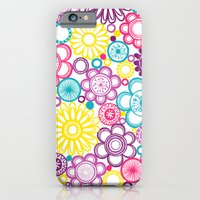 iPhone & iPod Case featuring BOLD & BEAUTIFUL blooms by Mel Smith Designs...