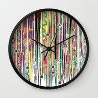 Fringe Benefits Wall Clock