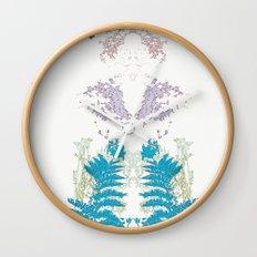 Botanic Body Wall Clock