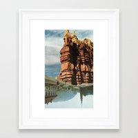 Souls of the Sky Framed Art Print
