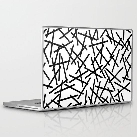 Kerpluk Black on White Laptop & iPad Skin