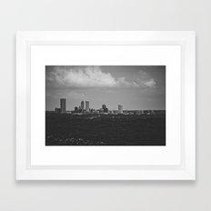 tulsa. Framed Art Print