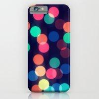 Round bokeh iPhone 6 Slim Case