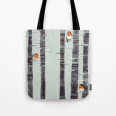 Robin Trees Tote Bag