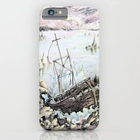 iPhone & iPod Case featuring Ship Wrecked by Lindsay Tebeck