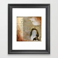 Hall Monitor Framed Art Print