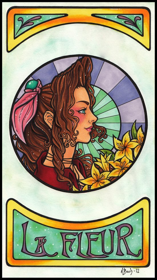 FFVII - Aeris Gainsborough Art Print