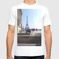 JGB14 Mens Fitted Tee White SMALL