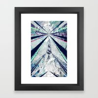 GEO BURST Framed Art Print