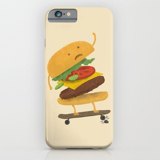 Burger Wipe-out  iPhone & iPod Case