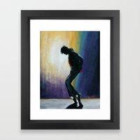 MJ Move   Framed Art Print