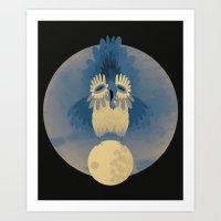 Night Owling Art Print