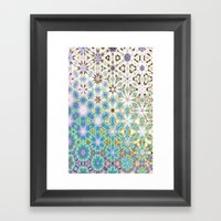 December Ice Cold Framed Art Print