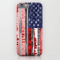 iPhone & iPod Case featuring My America by Shipwreck Moon Designs