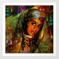 The Favorite Of The Sult… Art Print