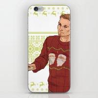 Very Merry Alistair iPhone & iPod Skin