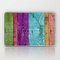 Colorful Wood  Laptop & iPad Skin