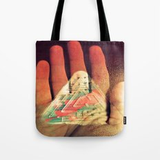What You Do Is Imprinted On You Tote Bag