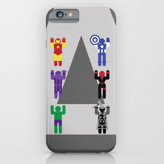 Minimal Avengers iPhone & iPod Case