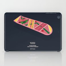 Back To The Future Part II iPad Case
