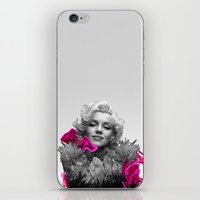 Quartz Armor & Roses in Her Hair iPhone & iPod Skin