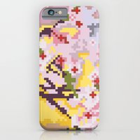 Sakura pixel iPhone 6 Slim Case