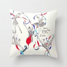 We are Great, Britain Throw Pillow