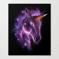 galaxy of the unicorn  Canvas Print