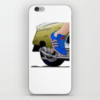 Kick off in style iPhone & iPod Skin
