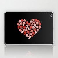 SKULL HEART FOR VALENTIN… Laptop & iPad Skin